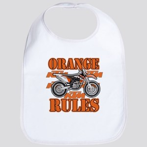 Orange Rules Bib