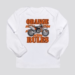 Orange Rules Long Sleeve T-Shirt
