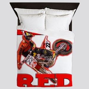 Ride Red 2013 Queen Duvet