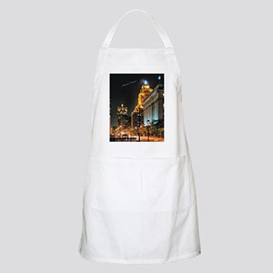 Milwaukee, Wisconsin Cityscape at Night Apron