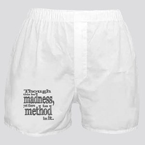 Method in Madness Shakespeare Boxer Shorts