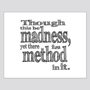 Method in Madness Shakespeare Small Poster