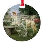 Borzoi Garden Ornament