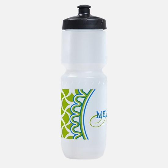 Stylish Custom Monogram Sports Bottle