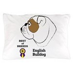 English Bulldog Pillow Case