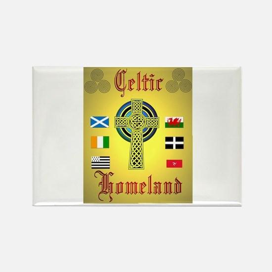 Celtic Homeland.:-) Rectangle Magnet