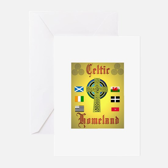 Celtic Homeland.:-) Greeting Cards (Pk of 10)