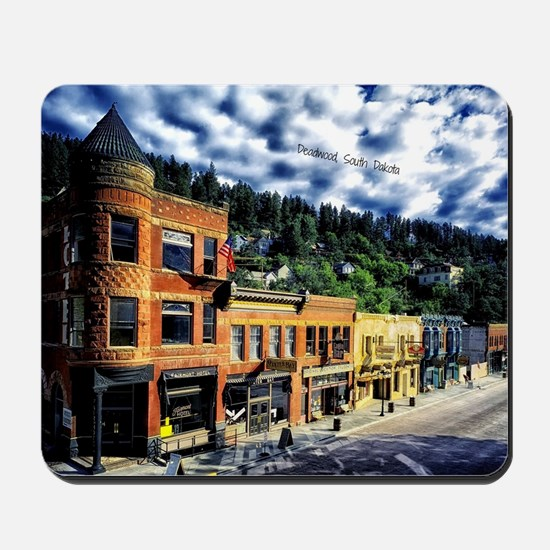 Deadwood, South Dakota Mousepad