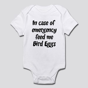 Feed me Bird Eggs Infant Bodysuit