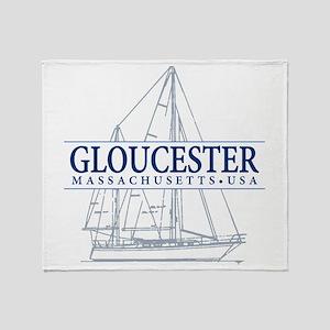 Gloucester - Throw Blanket