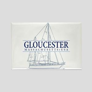 Gloucester - Rectangle Magnet
