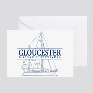 Gloucester - Greeting Card
