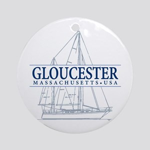 Gloucester - Ornament (Round)