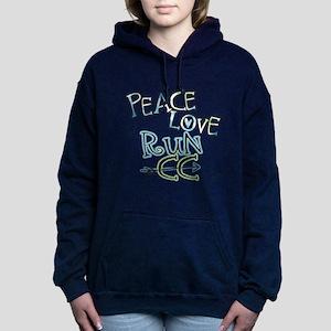 Peace Love Run CC Hooded Sweatshirt