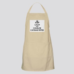 Keep calm and consume Cayenne Pepper Apron