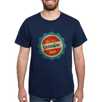 Retro Genuine Quality Since 2013 Dark T-Shirt