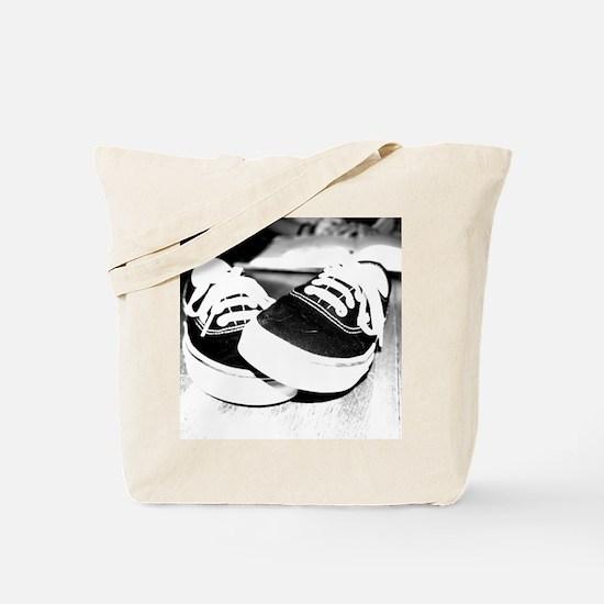 Black Vans Tote Bag