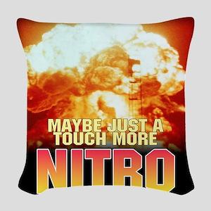nukeed Woven Throw Pillow