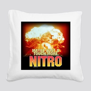 nukeed Square Canvas Pillow