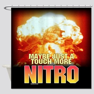 nukeed Shower Curtain