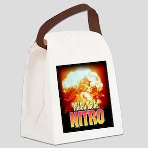 nukeed Canvas Lunch Bag