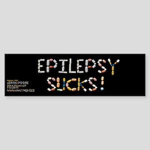 Epilepsy Sucks! Bumper Sticker