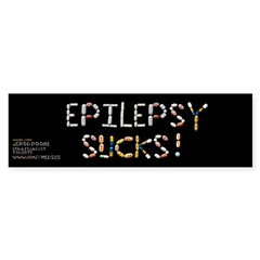 Epilepsy Sucks! Bumper Bumper Sticker