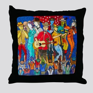 Country night somewhere in America (  Throw Pillow