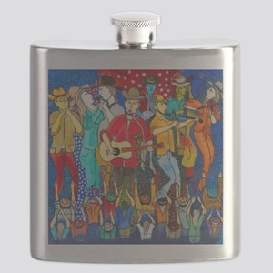 Country night somewhere in America ( My drea Flask