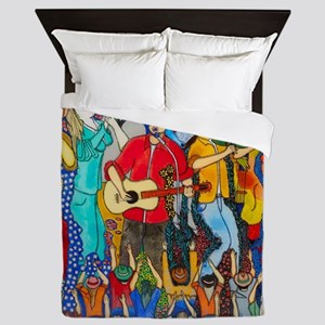 Country night somewhere in America ( M Queen Duvet