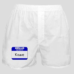 hello my name is kane  Boxer Shorts