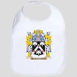 Blacksmith Coat of Arms - Family Crest Baby Bib