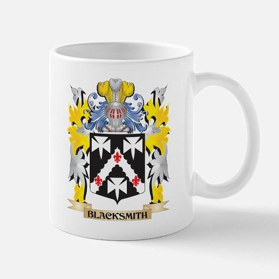 Blacksmith Coat of Arms - Family Crest Mugs