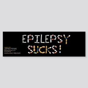 Epilepsy Sucks! Bumper Sticker