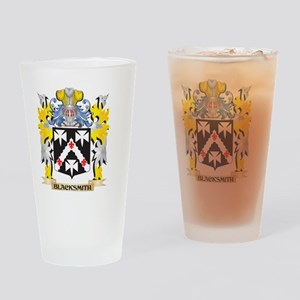 Blacksmith Coat of Arms - Family Cr Drinking Glass