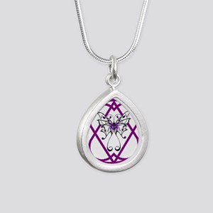 Fibro Butterfly Hope-A-Gram Necklaces