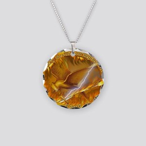 Catching Fire Mockingjay Necklace