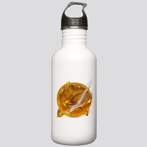 Catching Fire Mockingjay Water Bottle