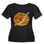 Catching Fire Mockingjay Plus Size T-Shirt
