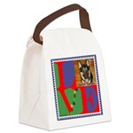 Personalize Love Stamps for Pets! Canvas Lunch Bag