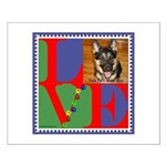 Personalize Love Stamps for Pets! Small Poster