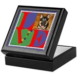 Personalize Love Stamps for Pets! Keepsake Box