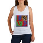 Personalize Love Stamps for Pets! Women's Tank Top