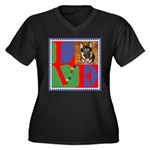 Personalize Love Stamps for Pets! Women's Plus Siz