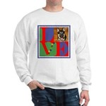 Personalize Love Stamps for Pets! Sweatshirt