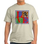 Personalize Love Stamps for Pets! Light T-Shirt