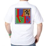 Personalize Love Stamps for Pets! Golf Shirt