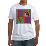 Personalize Love Stamps for Pets! Fitted T-Shirt