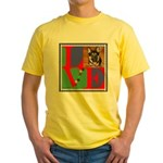 Personalize Love Stamps for Pets! Yellow T-Shirt