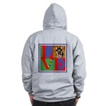 Personalize Love Stamps for Pets! Zip Hoodie